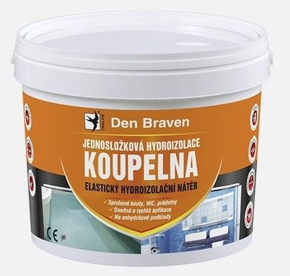 Jednosložková disperzní hydroizolace Den Braven Koupelna, 5 kg