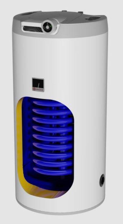 Elektrický stacionární ohřívač OKCE 100S/2,2 kW