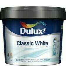 Malířský nátěr DULUX CLASSIC WHITE 3 l/bal.