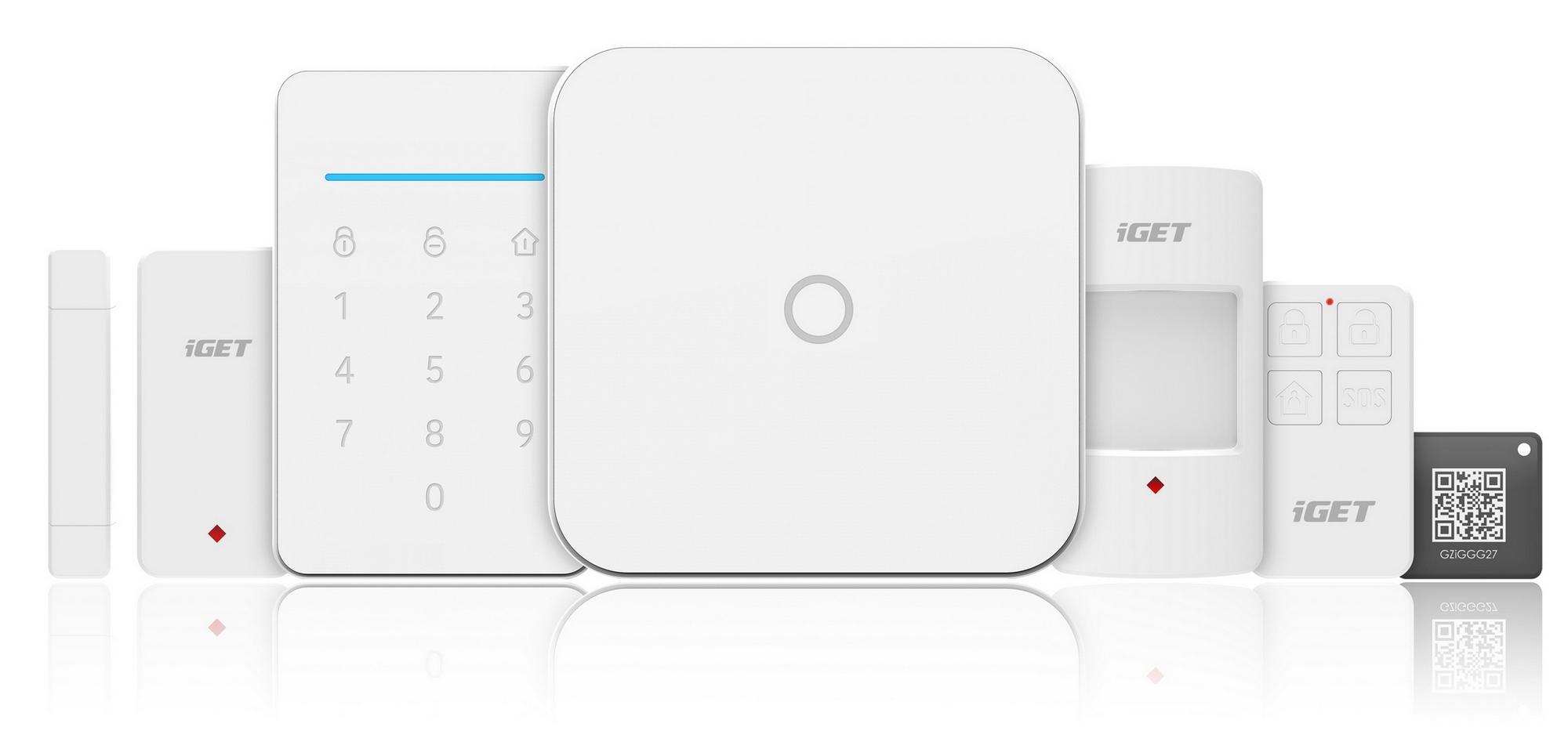 Systém zabezpečovací Wifi/GSM iGET SECURITY M4