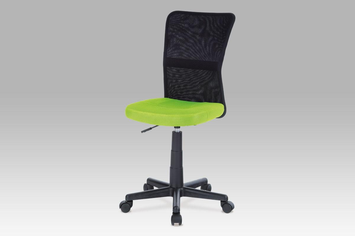 Kancelářská židle zelená/černá, cena za ks
