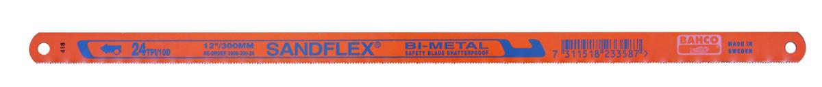List pilový na kovy Bahco Sandflex 3906-300-18-5P