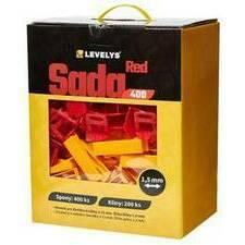 Sada Levelys Red 1,5 mm 400 ks