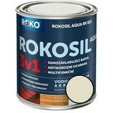 Barva samozákladující Rokosil Aqua 3v1 RK 612 sl. kost, 0,6 l