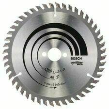 Kotouč pilový Bosch Optiline Wood 160×20×1,2 mm 48 z.