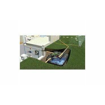 Sestava nádrže na dešťovou vodu Graf Platin Professionell, 7500 l