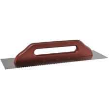 Hladítko nerezové zubové DEK HN60 130×480 mm zuby 4 mm