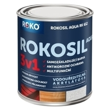 Barva samozákladující Rokosil Aqua 3v1 RK 612 tm. zelená, 0,6 l