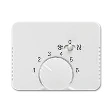 Kryt termostatu s posuvným přepínačem Alpha alabastr