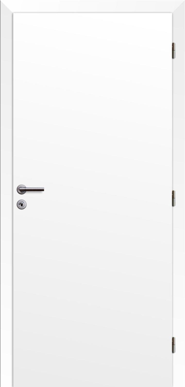 Dveře Solodoor KLASIK jednokřídlé, plné, pravé, fólie bílá, šíře 600 mm