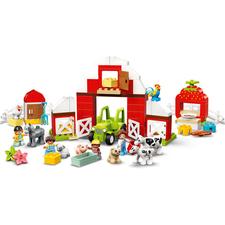 LEGO® DUPLO Stodola, traktor a zvířátka z farmy