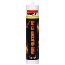 Protipožární tmel Fire silicone B1 FR (310 ml/bal), bílý