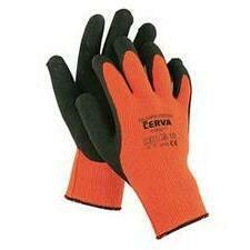 Rukavice zateplené Cerva PALAWAN WINTER oranžová/černá 9