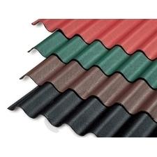 GUTTAPRAL Střešní bitumenová vlnitá deska Černá