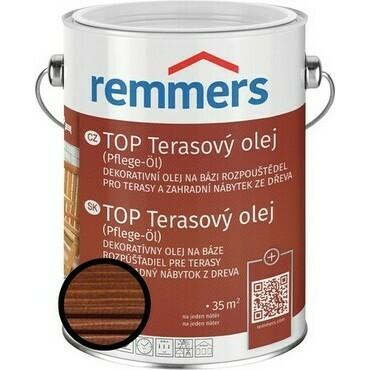 Olej terasový Remmers TOP rezavě hnědá, 2,5 l
