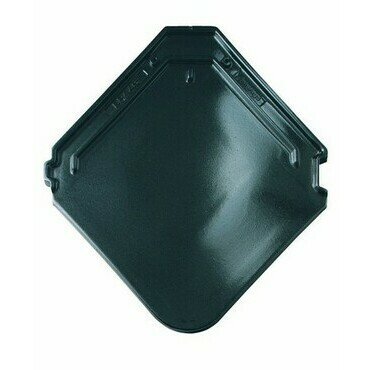 BRAMAC Smaragd základní taška glazura krystalově černá