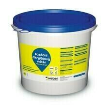 Barva fasádní weberton akrylát bílá 25 kg