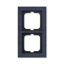 Rámeček ABB Busch-axcent dvojnásobný papír modrý