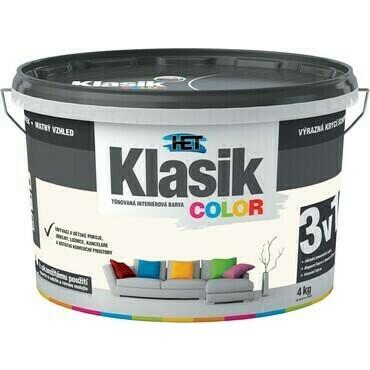 Malba interiérová HET Klasik Color béžový mandlový, 4 kg