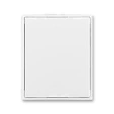 Kryt stmívače s krátkocestným ovladačem Time/Element bílá