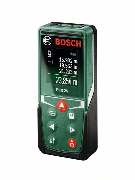 Laserový dálkoměr Bosch PLR 25, s akumulátorem