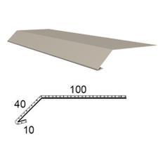 Okapnice z poplastovaného plechu Viplanyl r.š. 150 mm