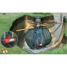 Sestava nádrže na dešťovou vodu Graf Carat Garten Komfort, 2 700 l