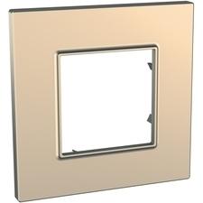 Rámeček jednonásobný, Unica Quadro, copper