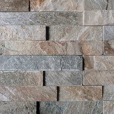 """Lepený rohový kamený díl DEKSTONE Q 001 rohy - """"Z""""  lepený – 15x(25+30)x0,5-3"""