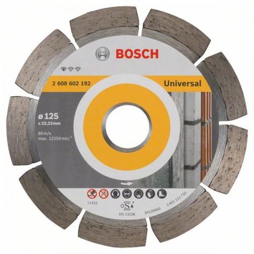 Diamantový řezný kotouč Bosch Professional for Universal 125×22,23 mm