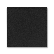 Kryt spínače kolébkového Levit onyx / kouřová černá