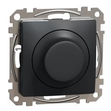 Stmívač otočný  LED univerzální Schneider Sedna Design antracit