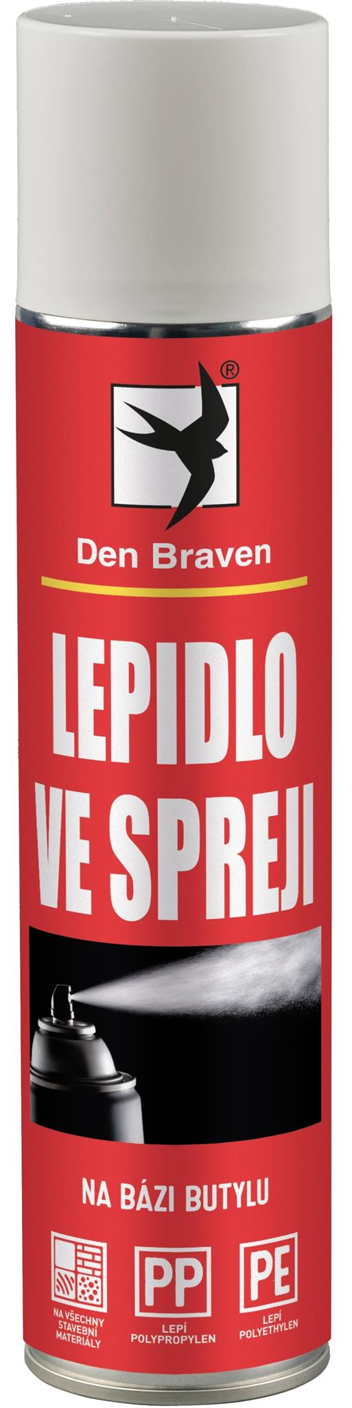Lepidlo ve spreji Red line 400 ml