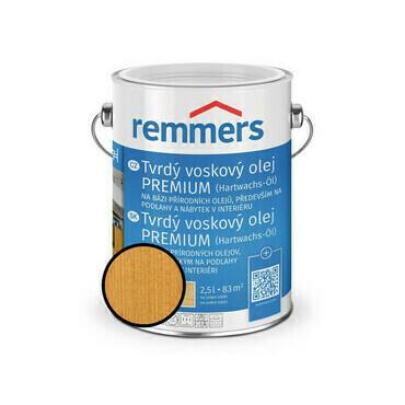 Olej tvrdý voskový Remmers Premium 1354 pinie 0,75 l