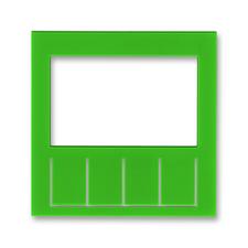 Díl výměnný pro kryt termostatu nebo hodin spínacích Levit zelená