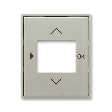 Kryt ovladače časovacího s otvorem pro displej Time starostříbrná