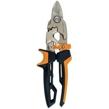 Nůžky na plech offsetové Fiskars PowerGear krátké