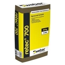 Hmota opravná Webertherm retec 700 30 kg