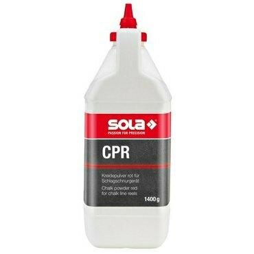 Křída značkovací SOLA CPR červená 1,4 kg