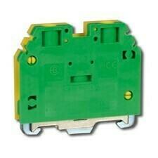 Svorka řadová RSA PE 6 A zelenožlutá