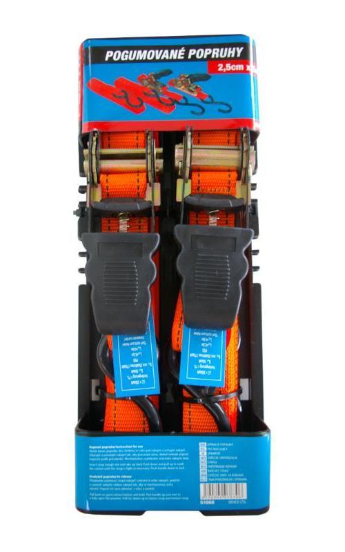 Račňový pás s háky (1x5 m) TUV GS (2ks/bal)