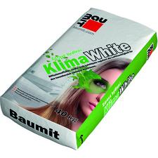 Omítka jednovrstvá Baumit KlimaWhite vápenná 0,6 mm 40 kg