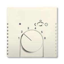 Kryt termostatu s otočným ovladačem Future/Solo slonovina