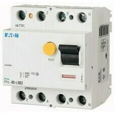 Chránič proudový Eaton PF6-40/4/003 6 kA 4pól 40 A