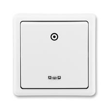 Ovládač zapínací Classic, signalizační doutnavka, jasně bílá