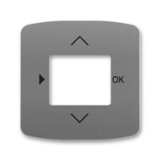 Kryt ovladače časovacího s otvorem pro displej Tango kouřová šedá