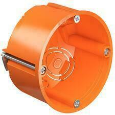 Krabice přístrojová do sádrokartonu KAISER O-range, 49 mm