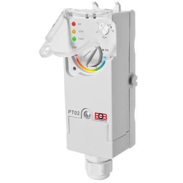 Elektronický příložný termostat ELEKTROBOCK PT02