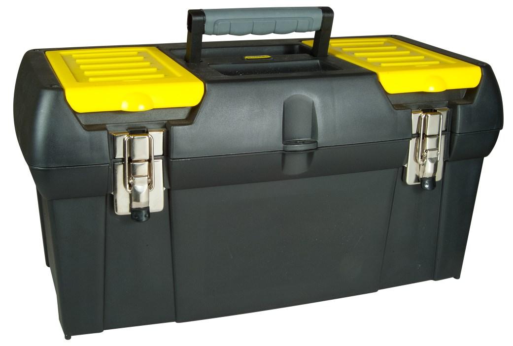 Box na nářadí s kovovými zámky (48,9x26x24,8) cm