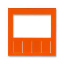 Díl výměnný pro kryt termostatu nebo hodin spínacích Levit oranžová